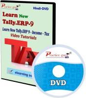 Practice guru New Tally.Erp 9 Income Tax Video Tutorial(CD)