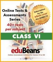 Edubeans Beans VI OnlineTests Preparation for Class 6 with Term&Unit Test(Online)