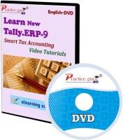 Practice guru Tally.ERP 9 Smart Tax Accounting Video Tutorial(CD)