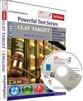 Practice Guru CLAT Target Test Series(CD) - Price 399