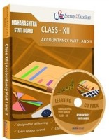 Average2excellent Class 12 Accountancy Part I and Part II Study Pack