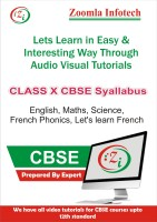 ZOOMLA INFOTECH CLASS 10 CBSE ENGLISH, MATHS, SCIENCE, FRENCH PHONICS, LET'S LEARN FRENCH VIDEO TUTORIALS(DVD) - PRICE 499 64 % OFF   #EDUCRATSWEB