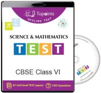 TUPOINTS CBSE CLASS 6 SCIENCE AND MATHEMATICS OFFLINE TEST(DVD) - PRICE 425 71 % OFF   #EDUCRATSWEB