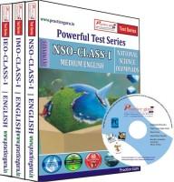 Practice Guru Class 1 - Combo Pack (IMO / NSO / IEO) Test Series(CD) - Price 355 1 % Off