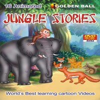 Golden Ball 16 Animated Jungle Stories(DVD) - Price 155 11 % Off