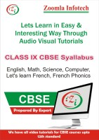 ZOOMLA INFOTECH CLASS 9 CBSE ENGLISH, MATHS, SCIENCE, COMPUTER, FRENCH PHONICS, LET'S LEARN FRENCH VIDEO TUTORIALS(DVD) - PRICE 499 65 % OFF   #EDUCRATSWEB