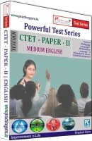 Practice Guru Powerful Test Series CTET - Paper - 2 Medium English