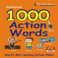 Golden Ball 1000 Action Words(DVD)