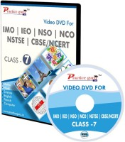 Practice guru Video Lectures & Computer Based Test Series for Olympiad Preparation - Class 7(DVD)