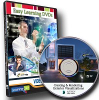 Easylearning Creating And Rendering Exterior Visualizations In 3ds Max Video Tutorial Dvd(DVD)