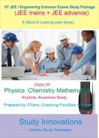Study Innovations Jee (Mains + Advance) Class XII Study Material(Pendrive)