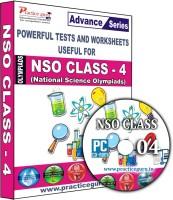 Practice guru NSO Class 4(CD)