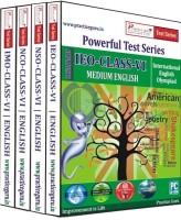 Practice Guru Powerful Test Series (IMO / NSO / IEO / NCO) Medium English (Class - 6) (Combo Pack)