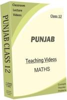 AVNS INDIA Punjab Higher Secondary Class 12 - Maths Full Syllabus Teaching Video (DVD) (for English Medium Students)(DVD)