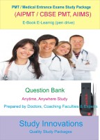 Study Innovations PMT/AIPMT/AIIMS/Medical Entrance Exams Question Bank(Pendrive)