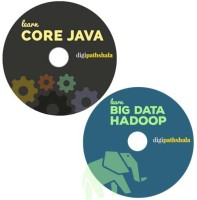 Digi Pathshala Core Java and Big Data Hadoop (50 hours of content and 80+ videos)(DVD)