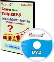 Practice guru New Tally.Erp 9 Service Tax Video Tutorial(CD)