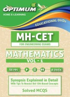 Optimum Educators Educational DVDs CET-Mathematics- Vol-1 Engineering Entrance(DVD)