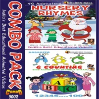 Golden Ball Combo Pack (ABC + N.Rhymes Jingle Bells)(VCD) - Price 225 10 % Off