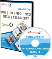Practice guru Video Lectures & Computer Based Test Series for Olympiad Preparation - Class 4(DVD)