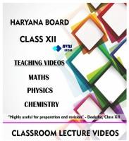AVNS INDIA Haryana Board Class 12 - Combo Pack - Physics, Chemistry and Maths Full Syllabus Teaching Video (DVD)(DVD)