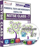 Practice guru NSTSE Class 7(CD)
