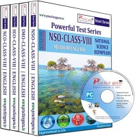 Practice Guru Class 8 - Combo Pack (IMO / NSO / IEO / NCO)