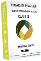 AVNS INDIA Himachel Pradesh Higher Secondary Class 12 - Maths Full Syllabus Teaching Video (DVD) (for English Medium Students)(DVD)