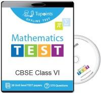 Tupoints Cbse Class 6 Maths Offline Test(DVD) - Price 275 63 % Off