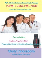Study Innovations PMT/AIPMT/AIIMS/Medical Entrance Exams Foundation Study Material(Pendrive)