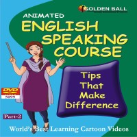 Golden Ball English Speaking Course Part-2(DVD) - Price 125 7 % Off