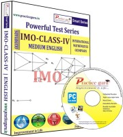 Practice Guru Powerful Test Series IMO Medium English (Class - 4)