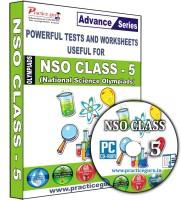 Practice guru NSO Class 5(CD)