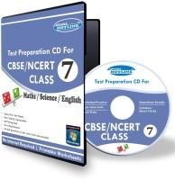 Advance Hotline Class 7 - Maths, Science & English Combo(CD)