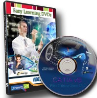 Easy Learning CATIA v5 VTN Video Training Course DVD(DVD)