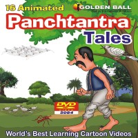 Golden Ball 16 Animated Panchtantra Tales(DVD) - Price 125 7 % Off