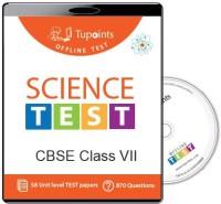 TUPOINTS CBSE CLASS 7 SCIENCE OFFLINE TEST(DVD) - PRICE 275 63 % OFF