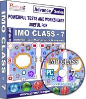 Practice guru IMO Class 7(CD)