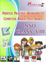 Practice guru Worksheets & Test Series for NSO Class 8(CD)