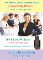Study Innovations IBPS Bank PO (Probationary Officers) Exam Study Package(Pendrive)