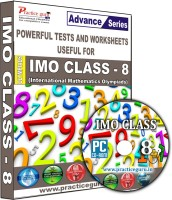 Practice guru IMO Class 8(CD)