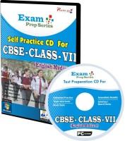 Practice guru Exam Prep For Class 7 - Maths, Science & English Combo(CD)