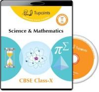Tupoints Cbse Class 10 Science And Mathematics Multimedia Lessons(DVD)