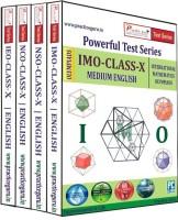 Practice Guru Powerful Test Series (IMO / NSO / IEO / NCO) Medium English (Class - 10) (Combo Pack)(