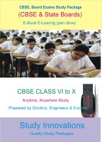 Study Innovations CBSE class VI to X Study Material(Pendrive)