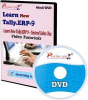 Practice guru New Tally.Erp 9 Central Sales Video Tutorial(CD)