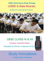 Study Innovations CBSE class XI & XII Study Material(Pendrive)