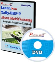 Practice guru Tally ERP 9 Advance Industrial Accounting Notes + Practical Exercise(CD)