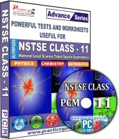Practice guru NSTSE Class 11 PCM(CD)