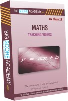 BigScoreAcademy.com Tamil Nadu Samacheer Kalvi Class 12 Maths Full Syllabus Teaching Video(DVD)